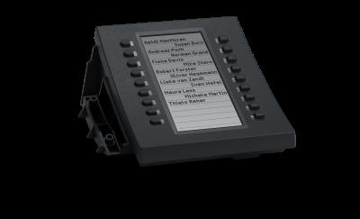 SNOM D3 exp. modul s LCD, 18. tl., k tel. D3XX
