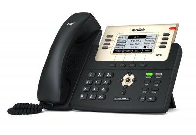 "Yealink SIP-T27G IP tel., PoE, 3,66"" 240x120 LCD, 21 prog.tl."