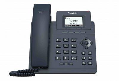 "Yealink SIP-T30P IP tel., PoE, 2,3"" 132x64 nepodsv. LCD"