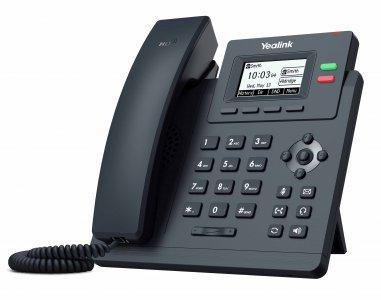 """Yealink SIP-T31G IP tel., 2,3"""" 132x64 pod.LCD,2 pro.tl."""