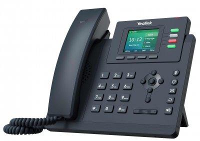 """Yealink SIP-T33G IP tel., 2,4"""" 320x240 pod.LCD,2 pro.tl."""
