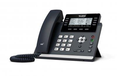 "Yealink SIP-T43U IP tel., PoE, 3,7"" 360x160 LCD, 21 prog.tl."