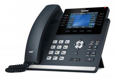 "Yealink SIP-T46U IP tel., PoE, 4,3"" bar. LCD, 27 prog.tl., GigE"
