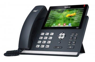 "Yealink SIP-T48S IP tel., PoE, 7"" bar.LCD, 29 prog.tl., GigE"