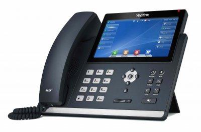 "Yealink SIP-T48U IP tel., PoE, 7"" bar.LCD, 29 prog.tl., GigE"