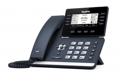 "Yealink SIP-T53W, IP tel., PoE, 3,7"" graf. LCD, 8 prog. tl., GigE"