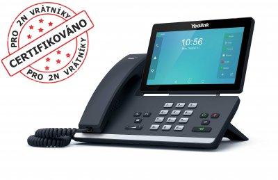 "Yealink SIP-T58A IP tel., PoE, 7"" bar. LCD, 27 prog. tl.GigE"