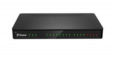 Yeastar S412, 8 FXS portů, 8 SIP účtů, 4 trunky, 1 Eth. Port