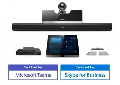 Yealink MVC500 videokonferenční endpoint pro SfB, Teams a Office365 - bezdrátové mikrofony