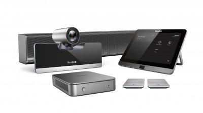 Yealink MVC500 II - videokonferenční endpoint pro SfB, Teams a Office365 - bezdrátové mikrofony