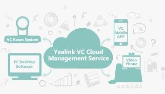 Yealink VC Cloud Management Service na 1 rok