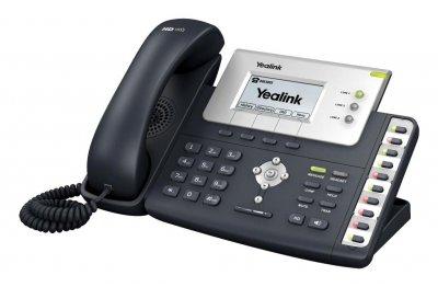 "Yealink SIP-T26P IP tel, PoE, 2,8"" 132x64 LCD, 13 prog.tl."