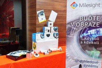 Stánek JOYCE na konferencích 2016 - Milesight