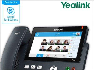 IP telefony se softwarem Skype for Business