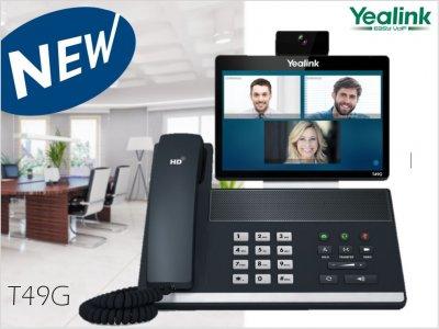 Uvádíme na trh prémiový videotelefon Yealink SIP VP-T49G