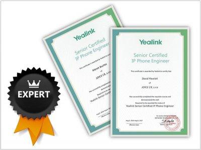 Jsme Yealink Senior Certified IP Phone Engineer