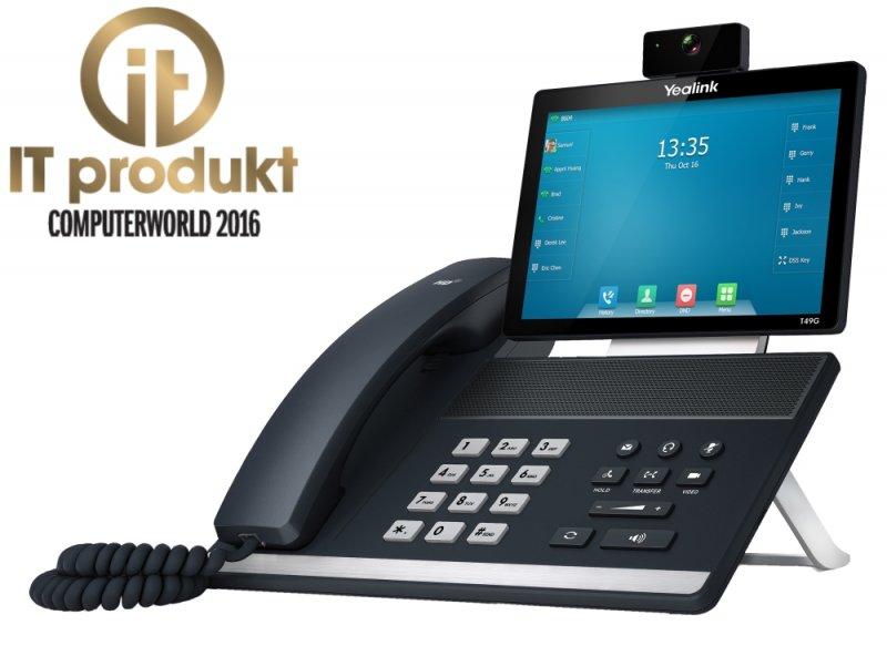 Yealink SIP VP-T49G s českou lokalizací je IT produktem roku 2016