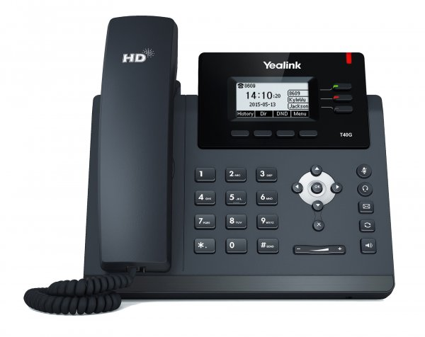 Yealink SIP-T40G s českou lokalizací