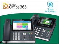 Telefony Yealink Skype for Business certifikovány pro SfB Online Service