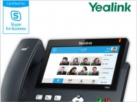 IP telefony se softwarem Skype for Business