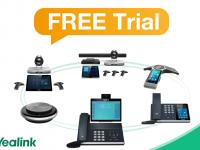 Vyzkoušejte Free Trial platformy pro správu Yealink zařízení