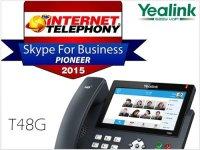 Telefon Yealink SIP-T48 získal ocenění IT Skype for Business Pioneer 2015