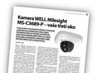 Kamera WELL Milesight - Vaše třetí oko