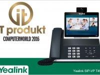 Yealink SIP-VP T49G je IT produkt roku 2016